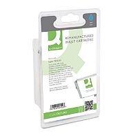 Epson T0712 Compatible Cyan Inkjet Cartridge Cheetah Series C13T07124011 / T071240 Q-Connect