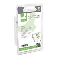 Epson T0714 Compatible Yellow Inkjet Cartridge Cheetah Series C13T07144011 / T071440 Q-Connect