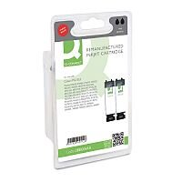 Canon PGI-525 BK ( 4529B001 Equivalent ) Black Ink Cartridge Compatible/Remanufactured by Q Connect Pack of 2