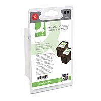 HP 56 Compatible Black Ink Cartridge Twin Pack C9502AE Q-Connect