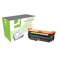HP 648A Yellow Compatible Laser Toner Cartridge CE262A Q-Connect