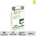 Q-Connect HP 933XL CN056A Compatible Yellow Inkjet Cartridge for Officejet Printers OBCN056A