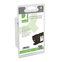 Brother LC-1100Y Compatible Yellow Ink Cartridge Q-Connect LC1100Y