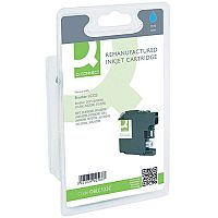 Brother LC-123C Compatible Cyan Ink Cartridge LC123C Q-Connect