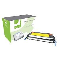 HP 502A Yellow Compatible Laser Toner Cartridge Q6472A Q-Connect