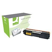 Brother TN320Y Compatible Yellow Toner Cartridge Q-Connect