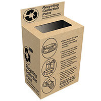FREE - Toner & Ink Cartridge Recycling Bin OBVOWBOX Pack of 1