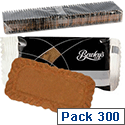 Bewleys Lotus Caramelised Biscuits Individually Wrapped Case of 300