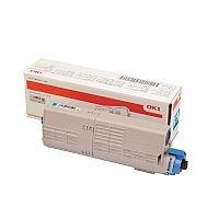 OKI 46490403 Cyan Standard Capacity Toner Cartridge