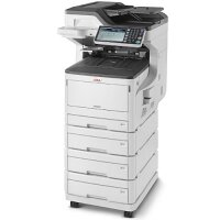 OKI MC883DNV A3 Colour Laser Multifunction - Print, Copy, Scan, Fax - Full Duplex, Wired Network, High Capacity Print, USB