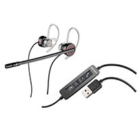 Plantronics Blackwire C435M Modular Overthe Ear Headset Black