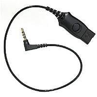 Plantronics Telephone Headset Cable Adapter MO300-N5 Designed for Nokia Phones
