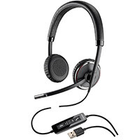 Plantronics Blackwire C520-M Overthe Head Binaural Stereo Headset