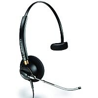 Plantronics EncorePro HW510V Over-the-Head Monaural Voice Tube Customer Service Headset 89435-02