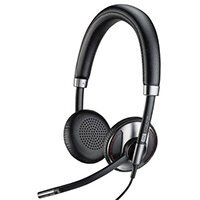 Plantronics Blackwire C725 USB Wired Headset Black