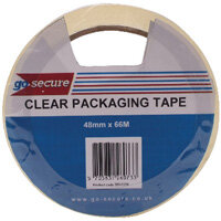 Go Secure Packaging Tape Clear 50mmx66m Pack of 6 PB02297