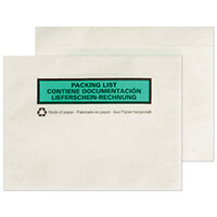 GoSecure A6 Paper Document Enclosed Envelope Pack of 1000 PAPDE22