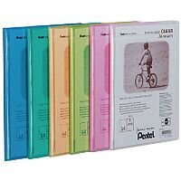 Pentel Recycology Display Book A4 Clear 20-Pocket Assorted