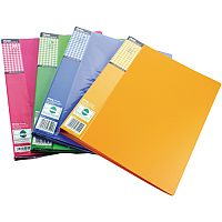 Pentel Recycology Fresh File A4 20-Pocket Assorted DCF542/Mix