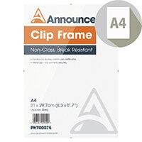 Announce A4 Clip Frame PHT00075