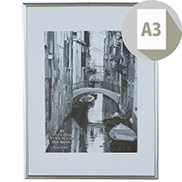 Photo Album Company Backloader Silver A3 Non Glass