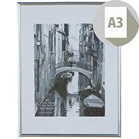 Photo Album Company Backloader Silver A3 Non Glass