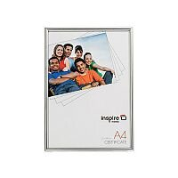 Photo Album Company Backloader A4 Silver Glass