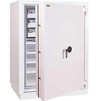 Phoenix Millennium Duplex DS4651E 234L Data Safe with Electronic Lock White