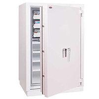 Phoenix Millennium Duplex DS4652K 275L Data Safe with Key Lock Grey