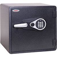 Phoenix Titan Aqua FS1292E 35L Waterproof, Fireproof Theft Security Safe With Electronic Lock Black