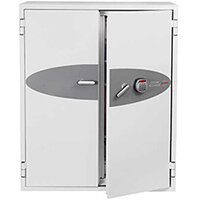 Phoenix Fire Commander FS1913E 332L Fireproof Safe With Electronic Lock White