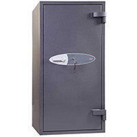Phoenix Neptune HS1053K 90L Security Safe With Key Lock Grey