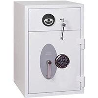 Phoenix Diamond Deposit HS1090ED 44L Security Safe With Electronic Lock White