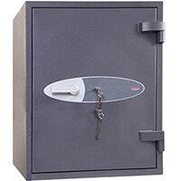 Phoenix Planet HS6073K 129L Security Safe With Key Lock Grey