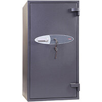 Phoenix Planet HS6075K 246L Security Safe With Key Lock Grey