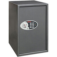 Phoenix Vela SS0805E Size 5 88L Home & Office Security Safe With Electronic Lock Metallic Graphite