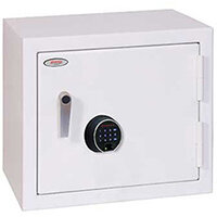 Phoenix Securstore SS1161F 119L Security Safe With Electronic Fingerprint Lock White