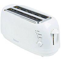 Igenix 4 Slices Long Toaster White