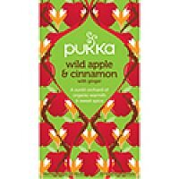 Pukka Wild Apple and Cinammon Tea (Pack of 20) P5039