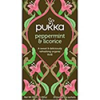 Pukka Peppermint and Liquorice Tea (Pack of 20) P5041