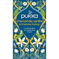 Pukka Chamomile, Vanilla and Manuka Tea (Pack of 20) P5032