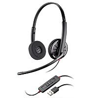 Plantronics Blackwire C320 UC Headset Black 85619-01