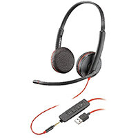 Plantronics Blackwire Binaural C3225 USB-A 209747-101