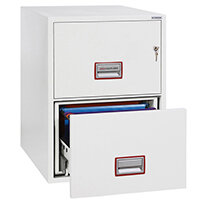 Phoenix FS2272K Fire File 2 Drawer Key Lock FS2272K