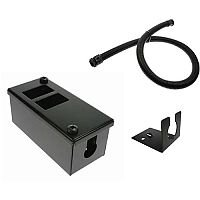 2 Way Cable Tidy POD Box Kit 20mm Fixing