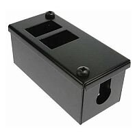 Cat 6 friendly 2 Way Cable Tidy POD Box Depth: 55mm Cable Entry: 20mm