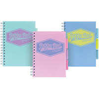 Pukka Pad Pastel Project Book A5 Pack of 3 8631-PST