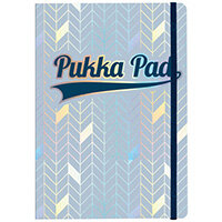 Pukka Pad Glee Journal Pad A5 Light Blue Pack of 3 8684-GLE