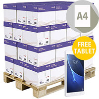 Pallet Of Xerox Premier High Performance A4 White Printer Paper 80gsm 200 Reams Per Pallet FREE Samsung Galaxy Tab