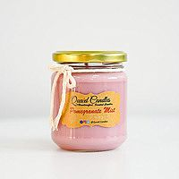 Pomegranate Mist Handcrafted Soy wax Candles Small (8oz) Pack of 1